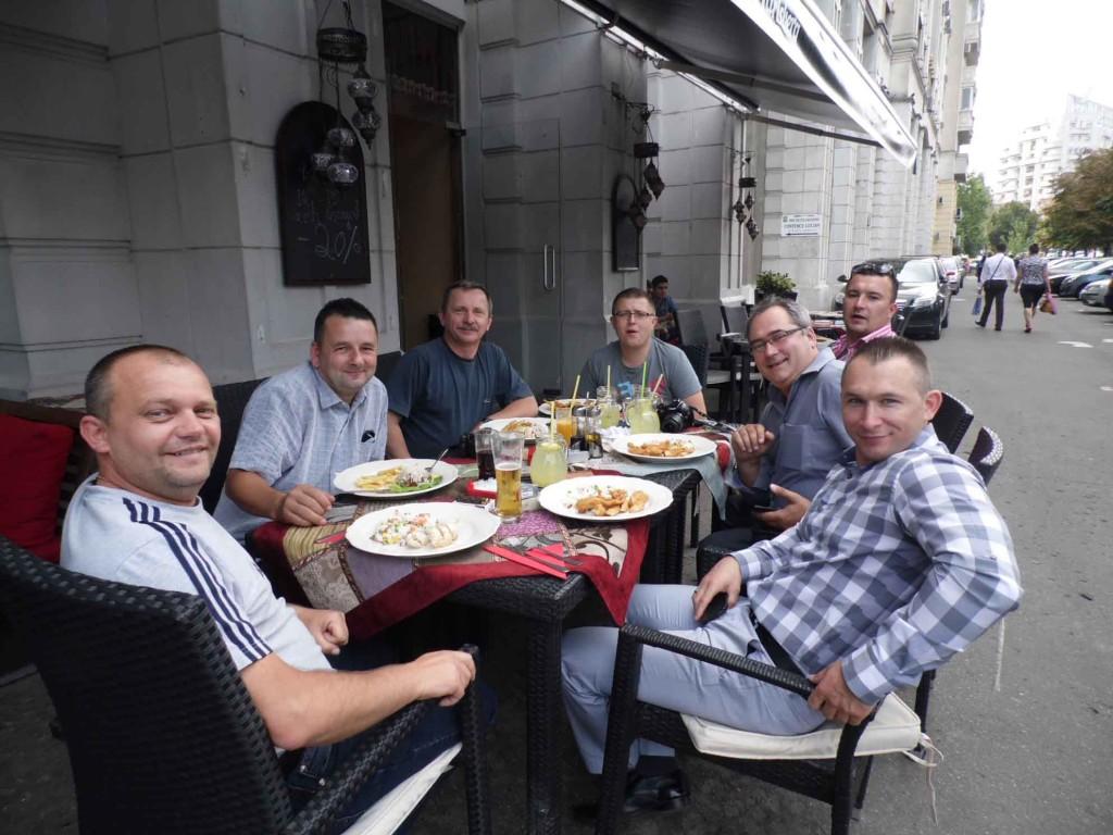 obiad w bukareszcie